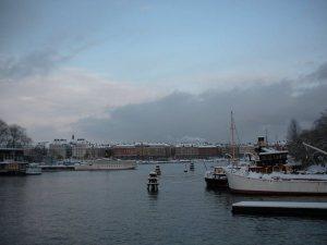 Stockholm when I was visiting last December